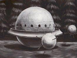 Les Andromédiens dans O.V.N.I et E.T. ScotlandLanding1979b