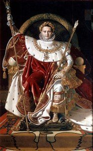 Prophéties du Moyen Age 1ère partie dans PROPHETIES 200px-ingres_napoleon_on_his_imperial_throne-185x300