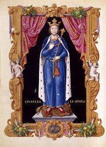 Prophéties du Moyen âge 3ème partie dans PROPHETIES 220px-charlesiii_le_simple_jean_de_tillet-recueil_des_rois_de_france-217x300
