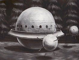 6 ans à bord d'un vaisseau dans O.V.N.I et E.T. espace