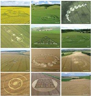 Wiltshire étude des crop circles dans CROP CIRCLES calend