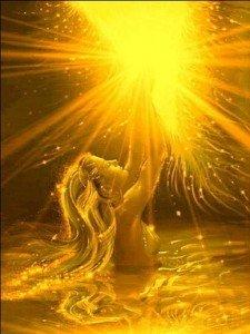 Lumière dorée