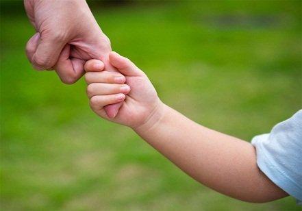amour d'un enfant