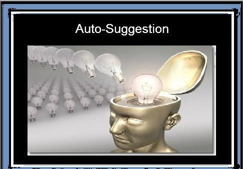 Autosuggestion